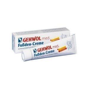 Gehwol med Fussdeo-creme - Intensywny krem silnie odświeżający do stóp - 75ml