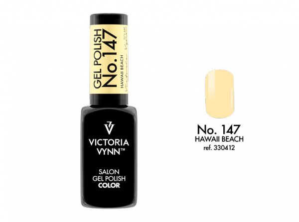 Victoria Vynn Gel Polish Color - Hawaii Beachi No.147 8 ml