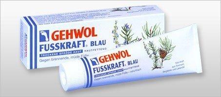 Gehwol - Fusskraft Blau - Dla skóry suchej i zmęczonej  - 75 ml