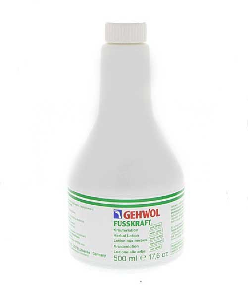 Gehwol Fusskraft krauterlotion - Lotion ziołowy do dezynfekcji skóry stóp - 500ml