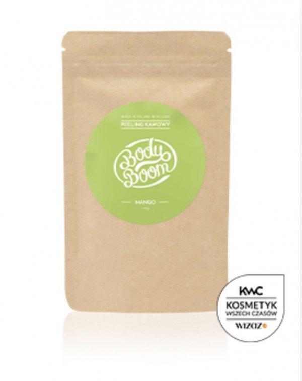 Body Boom Peeling kawowy Boskie Mango 100g