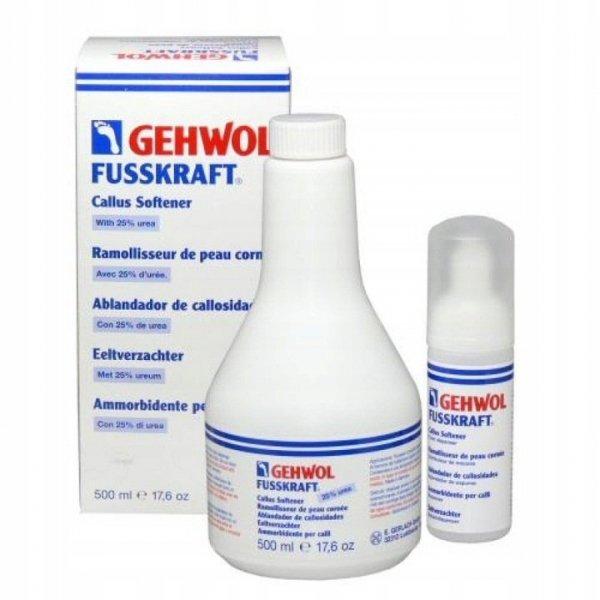 Gehwol Fusskraft hornhauterweicher - Pianka zmiękczająca zrogowaciały naskórek - 500ml