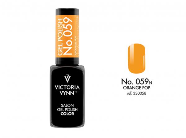 Victoria Vynn Gel Polish Color - Orange Pop No.059 8 ml