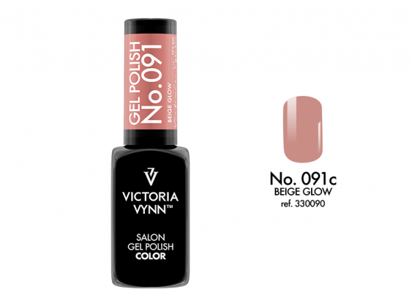 Victoria Vynn Gel Polish Color - Beige Glow No.091 8 ml