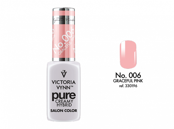 Victoria Vynn Pure Color - No.006 Graceful Pink 8 ml
