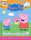 Świnka Peppa magazyn 3/2017 Bardzo ważny gość + tabliczka Peppy