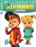 Alvin i wiewiórki Kolekcja filmowa 5 (DVD)
