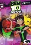 Ben 10 Omniverse 6 Niestrawność Kolekcja filmowa (DVD)