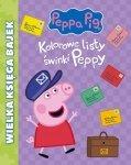 Świnka Peppa Wielka księga bajek 2 Kolorowe listy świnki Peppy