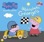 Świnka Peppa Książeczki z półeczki 36 Wyścigówka George'a