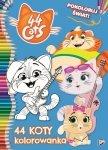 44 Koty Pokoloruj świat! kolorowanka