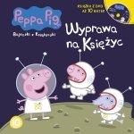 Świnka Peppa Bajeczki z Książeczki 10 Wyprawa na Księżyc - książka z płytą DVD