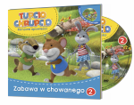 Tupcio Chrupcio Filmowe opowieści 2 Zabawa w chowanego książka + DVD