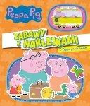 Świnka Peppa Zabawy z naklejkami 4 Z Peppą przez świat!