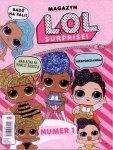L.O.L. Surprise! magazyn 1/2019 + brokatowa kokarda i kreda