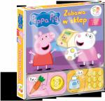 Świnka Peppa Wśród przyjaciół Zabawa w sklep (30 puzzli)