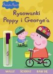Świnka Peppa Rysowanki Peppy i George'a Maluj, ścieraj, baw się