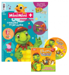 MiniMini+ magazyn 1/2015 + DVD z przygodami Franklina