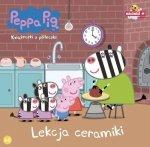 Świnka Peppa Książeczki z półeczki 48 Lekcja ceramiki