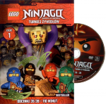 Cartoon Network Przedstawia 1/2017 + DVD LEGO Ninjago Turniej Żywiołów 1