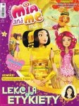Mia i ja Magazyn 6/2014 Lekcja etykiety + rzepy do włosów i błyszczyk
