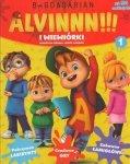 Alvin i wiewiórki 1 (50 naklejek)