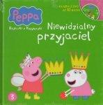 Świnka Peppa Bajeczki z Książeczki 3 Niewidzialny przyjaciel - książka z płytą DVD