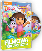 Filmowa Superkolekcja Dora poznaje świat Urodziny superdzieci DVD