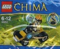 Scooby-Doo! Zestaw Wakacje z duchami - 2 książki + Lego Chima 30253 Quad Leonidasa
