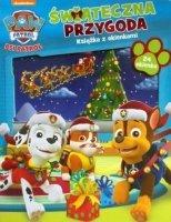 Psi Patrol Świąteczna przygoda - ksiazka z okienkami