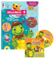 MiniMini+ magazyn 1/2015 + DVD z przygodami Franklina