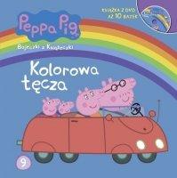 Świnka Peppa Bajeczki z Książeczki 9 Kolorowa tęcza