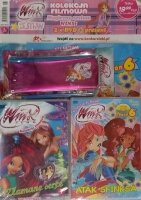 Winx Club Zestaw DVD 5.7 Złamane serce + 6.3 Atak Sfinksa + prezent