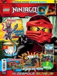 Lego Ninjago magazyn 6/2017 + Wojownik Cynobru