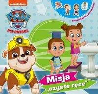 """Psi Patrol Opowiadania z naklejkami 3 Misja """"czyste ręce"""""""