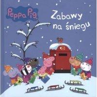 Świnka Peppa Zabawy na śniegu (w twardej oprawie)