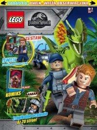 LEGO Jurassic World 2 + Owen wraz z wieżą obserwacyjną