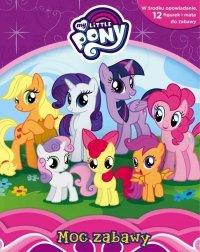 Mój kucyk My Little Pony Moc zabawy + mata i 12 figurek