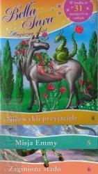 Bella Sara Zestaw 3 książek + naszyjnik