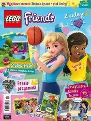 LEGO Friends magazyn 1/2018 + studnia życzeń i ptak Andrei