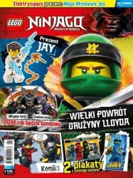 LEGO Ninjago magazyn 1/2018 + JAY Ninja Błyskawic