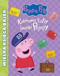 PRODUKT PREMIOWANY Świnka Peppa Wielka księga bajek 2 Kolorowe listy świnki Peppy