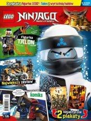 LEGO Ninjago magazyn 9/2018 + Talon z wyrzutnią haków