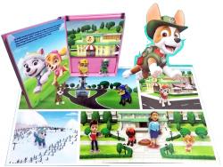 Psi Patrol Moc zabawy + mata i 10 figurek (Everest i Skye)