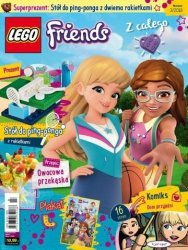 LEGO Friends magazyn 3/2018 + stół do ping-ponga