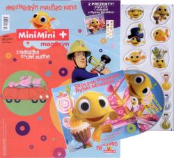 MiniMini+ magazyn Niezbędnik małego fana 1/2016 + CD Skoczne piosenki rybki MiniMini
