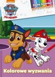 Psi Patrol Dodaj Kolorów! Kolorowe wyzwania