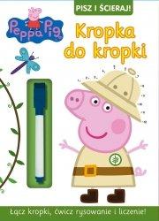 Świnka Peppa Pisz i ścieraj! 7 Kropka do kropki