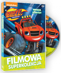 Filmowa Superkolekcja Blaze i megamaszyny Inwazja słodyczy DVD