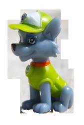 Psi Patrol Witaj w klubie 5 Rocky i przyjaciele (z figurką)